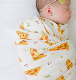 Loulou Lollipop Loulou Lollipop Pizza Muslin Swaddle
