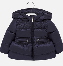 Mayoral Mayoral Ruffle Padded Coat