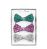 Meri Meri Meri Meri Tinsel Bow Hair Clips