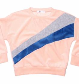Joah Love Joah Love Evans Velour Sweater