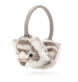 JellyCat Jelly Cat Sacha Snow Tiger Ear Muffs