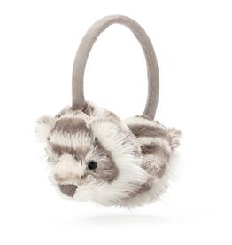 JellyCat Jelly Cat Sacha Snow Tiger Ear Muffs