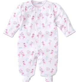 kissy kissy Kissy Kissy Flowering Flamingos Footie