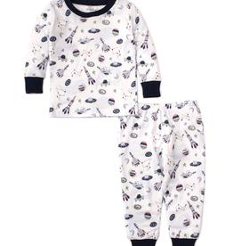 kissy kissy Kissy Kissy Outer Space Pajama Set
