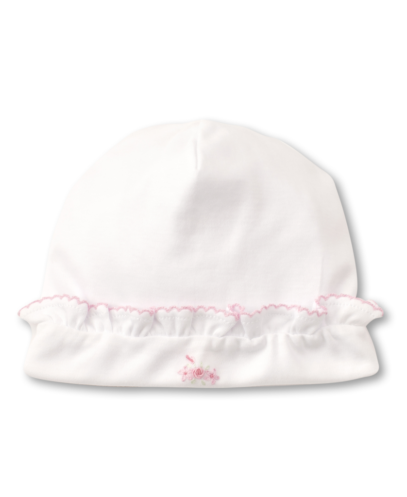kissy kissy Kissy Kissy Premier Summer Bouquet Hat with Hand Embroidery