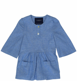 tooby doo Tooby Doo Light Chambray Dress