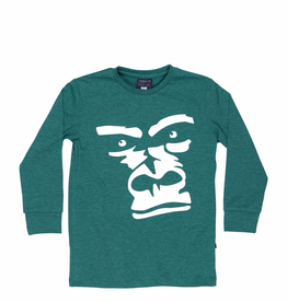 tooby doo Tooby Doo Long Sleeve T-Shirt with Gorilla Print