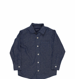 tooby doo Tooby Doo Woven Chambray Dress Shirt