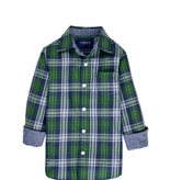 tooby doo Tooby Doo Plaid Button Down Shirt