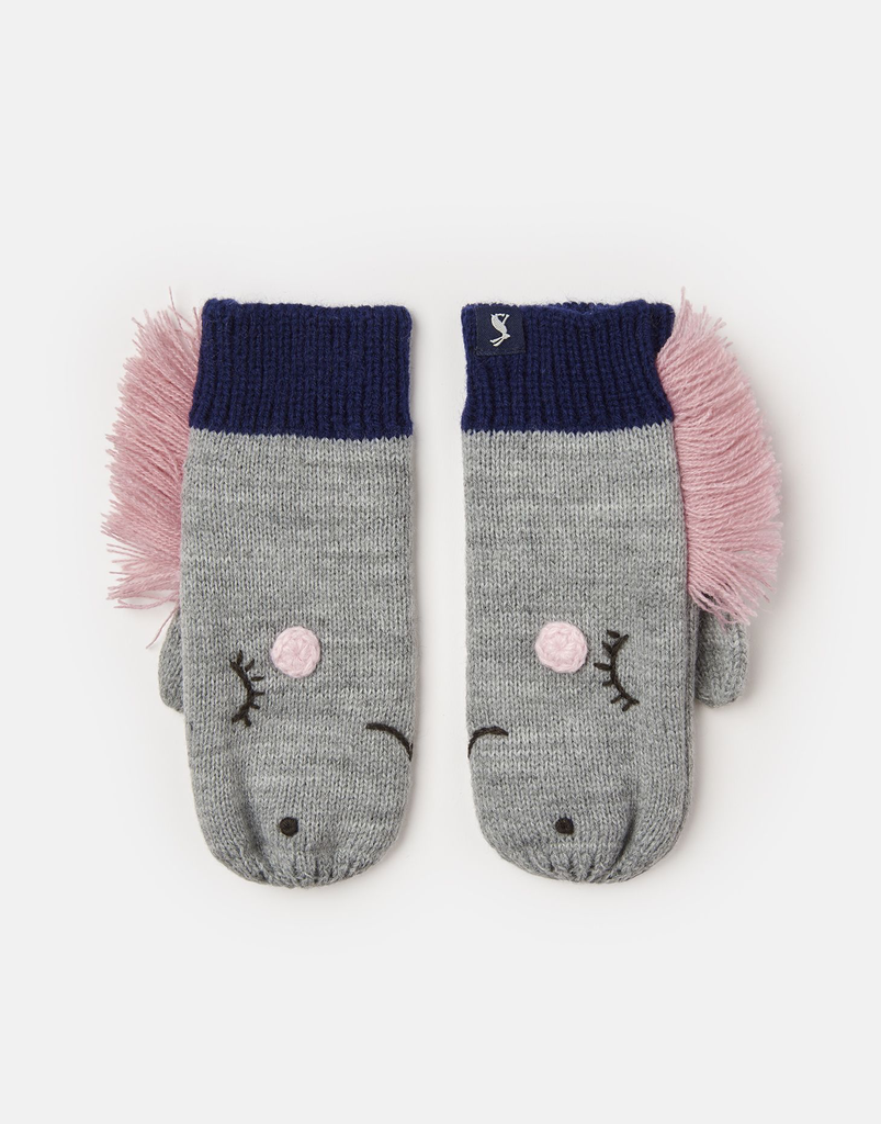 Joules Joules Chummy Horse Mittens