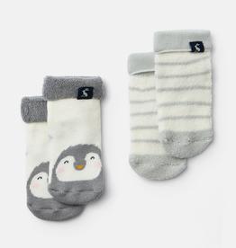 Joules Joules Terry Penguin Stripe Socks