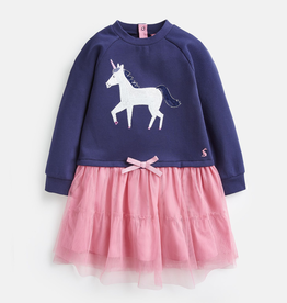 Joules Joules Hettie Glitzy Horse Dress