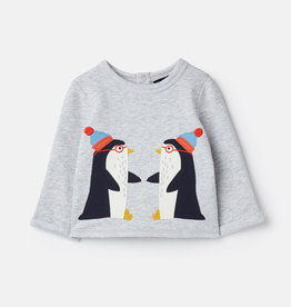 Joules Joules Boo Penguin Top