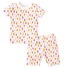 kissy kissy Kissy Kissy Prismatic Pineapples Short Pajama Set