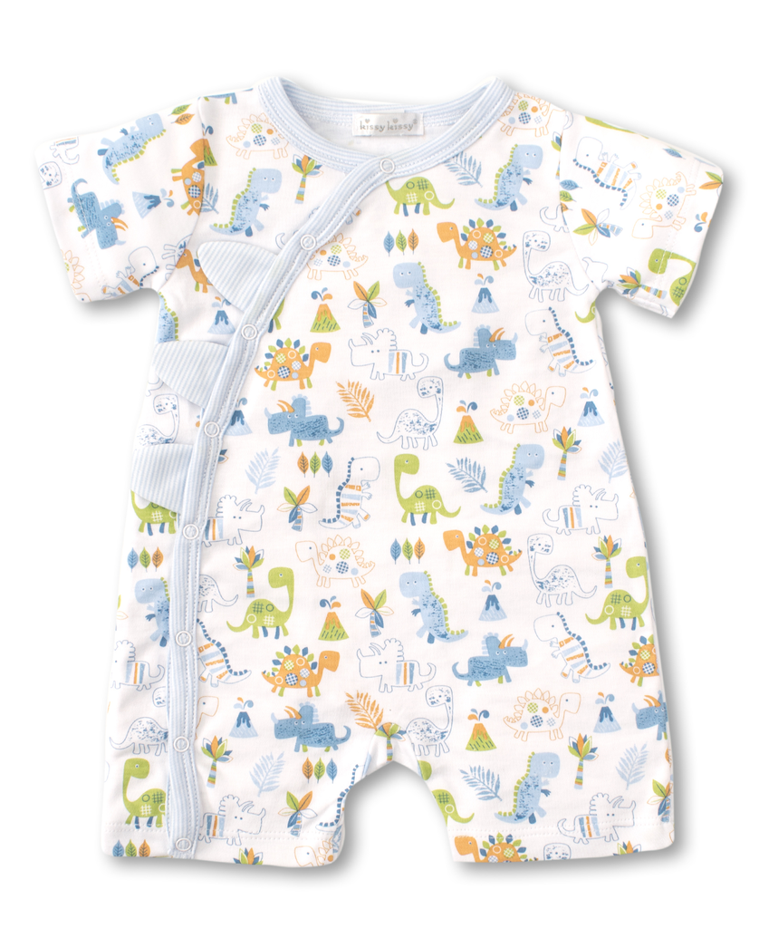 kissy kissy Kissy Kissy Dino Dash Short Playsuit