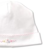 kissy kissy Kissy Kissy Premier Daisy Swag Hat with Hand Embroidery