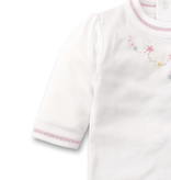 kissy kissy Kissy Kissy Premier Daisy Swag Footie with Hand Embroidery