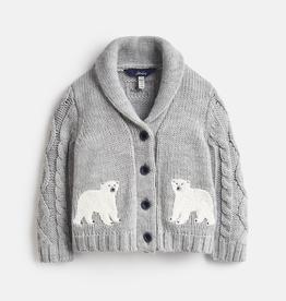 Joules Joules Polar Bear Cardigan
