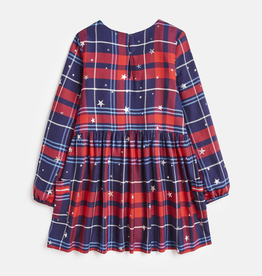 Joules Joules Rowena Check Star Dress