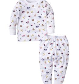 kissy kissy Kissy Kissy Ball Park Pajama Set