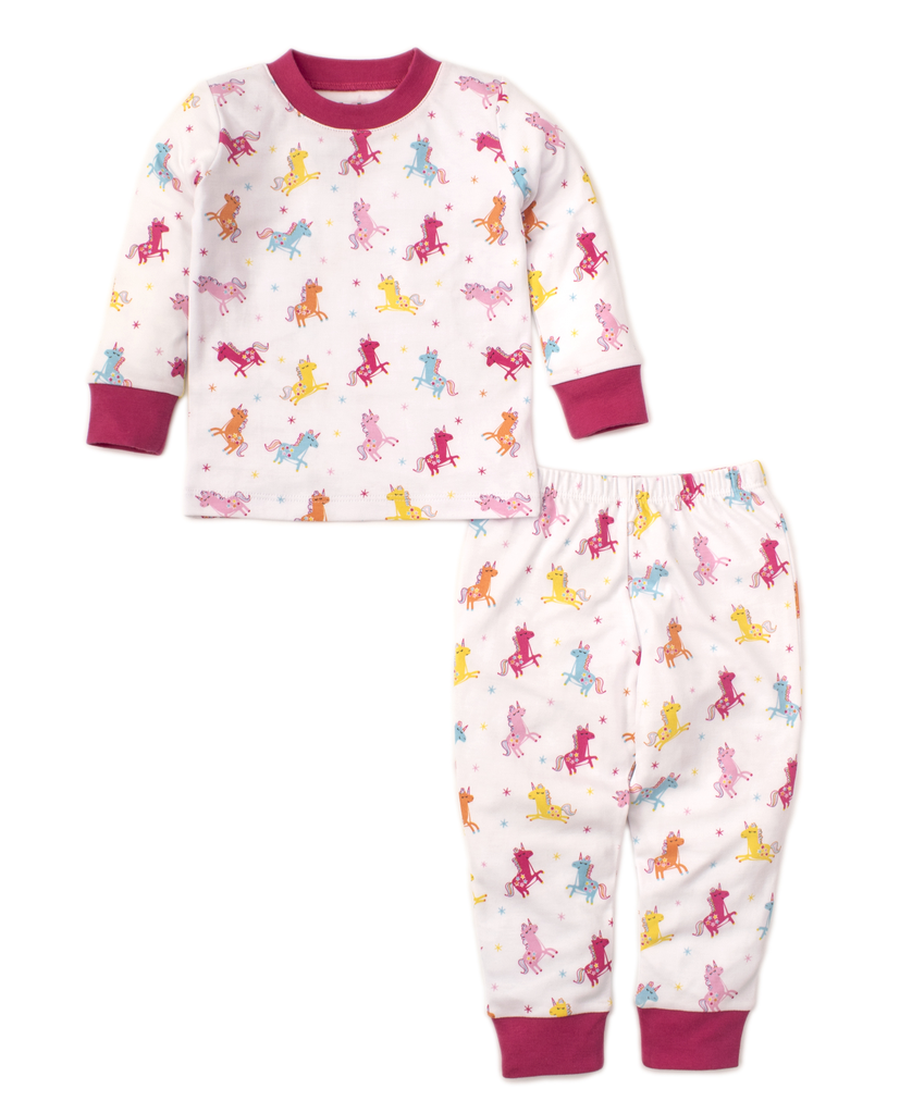 kissy kissy Kissy Kissy Unique Unicorns Pajama Set