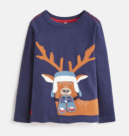 Joules Joules Chomp Deer Applique T-Shirt