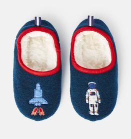 Joules Joules Junior Slippet Rockets Applique Slipper