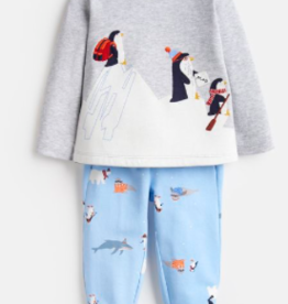 Joules Joules Byron Penguin Top and Pants Set