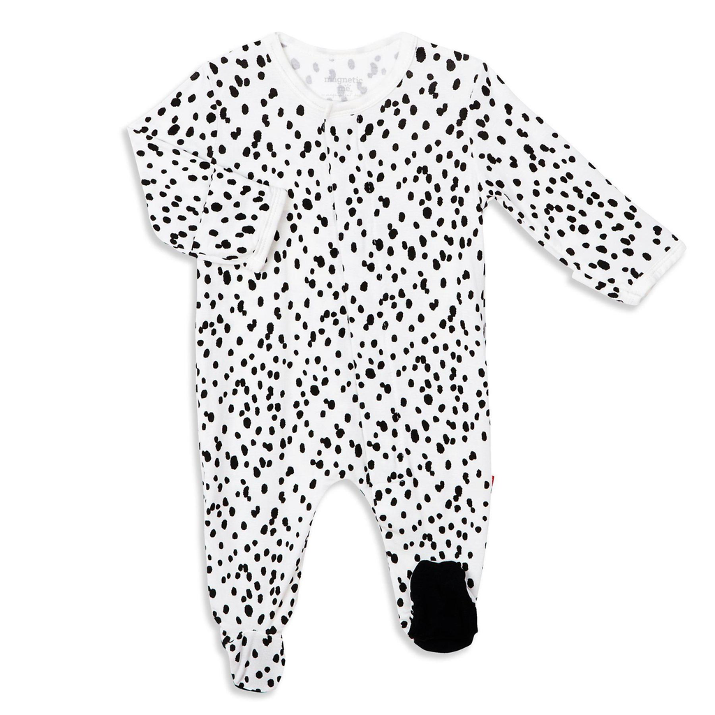 Magnificent Baby Magnificent Baby Seeing Spots Modal Footie