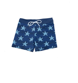Petit Peony Sweet Cheeks Bakers Bay Swim Trunks