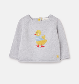 Joules Joules Intarsia Knit Duck Sweater