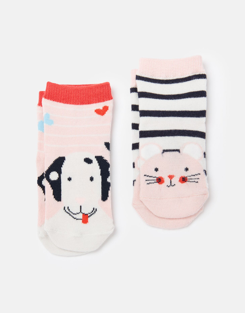 Joules Joules Mouse and Dog Neat Feet Socks