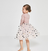 Petite Hailey Petite Hailey Long Sleeve 2 Star Tutu Dress