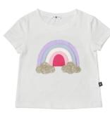 Petite Hailey Petite Hailey Rainbow Tee