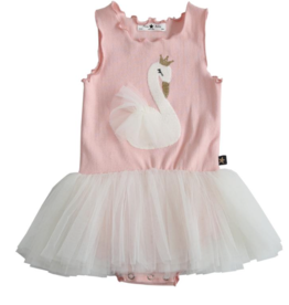 Petite Hailey Petite Hailey Swan Baby Tutu Dress