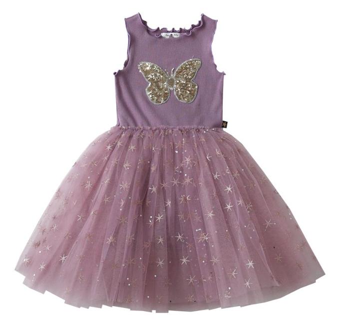 Petite Hailey Petite Hailey Butterfly Snow Tutu Dress