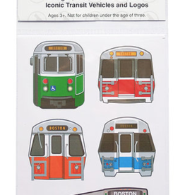 Sidetrack Sidetrack Boston MBTA Stickers
