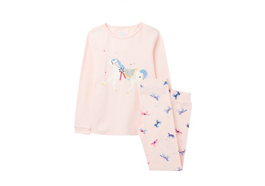 Joules Joules Sleepwell Jasmine Horse Pajama Set
