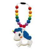 Summer Lulu Summer Lulu Rainbow Unicorn Baby Carrier Teether