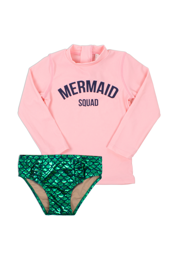 Shade Critters Shade Critters Mermaid Squad Two Piece Swimsuit