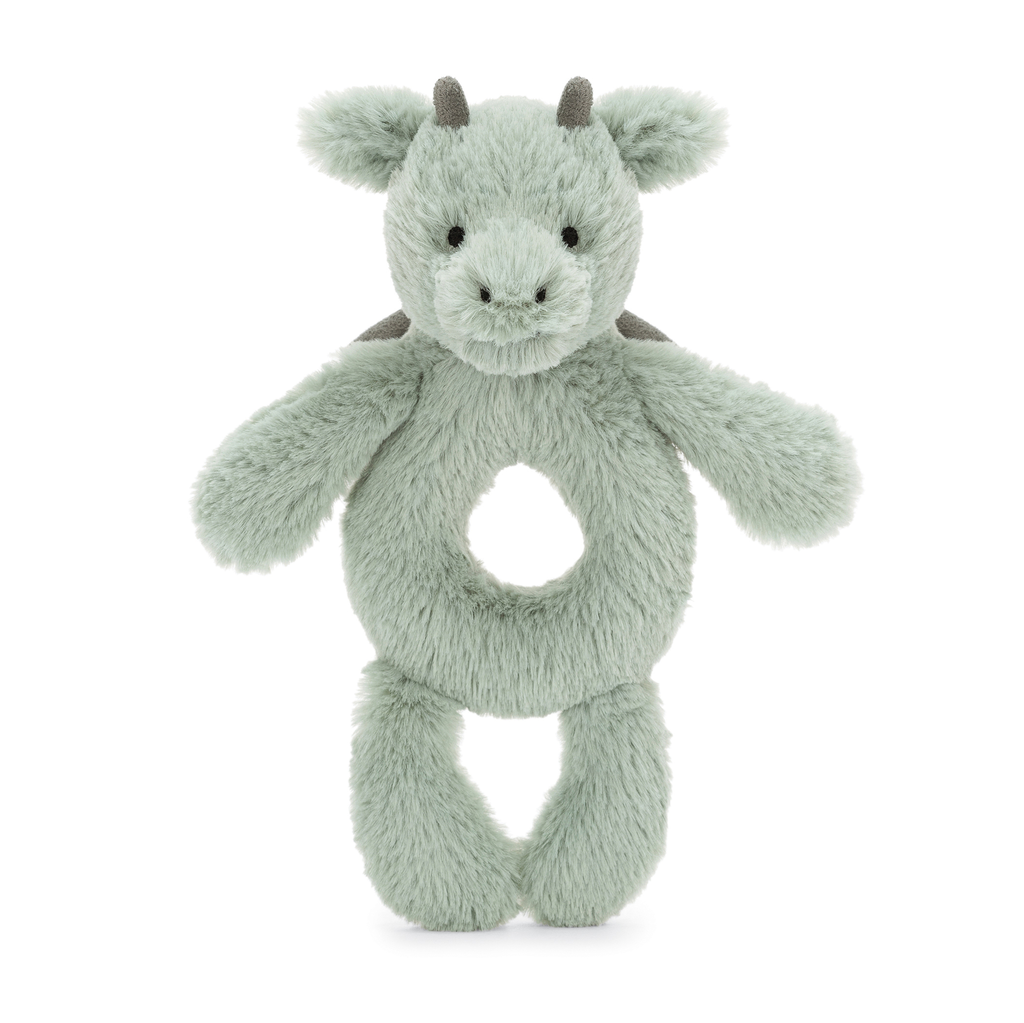 JellyCat Jelly Cat Bashful Dragon Ring Rattle