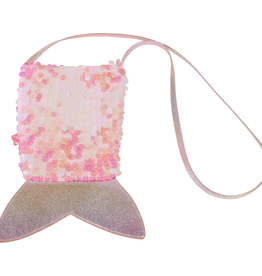 Billieblush Billieblush Iridescent Sequin Mermaid Tail Bag