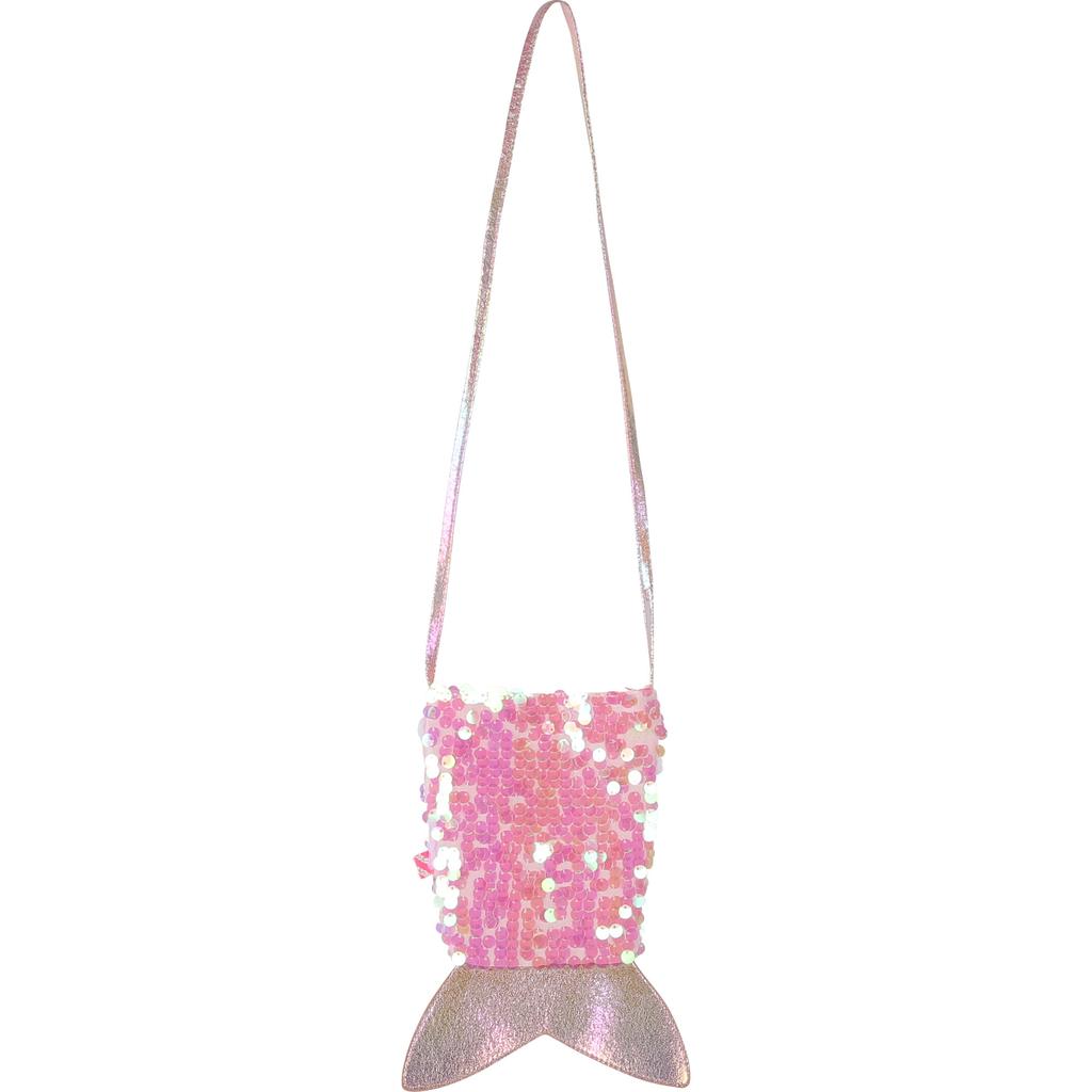 Billieblush Billieblush Iridescent Sequin Mermaid Tail Bag