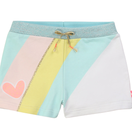 Billieblush Billieblush Pastel Print French Terry Shorts