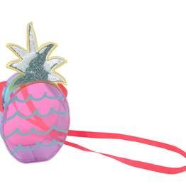 Billieblush Billieblush Pineapple Print Transparent Bag