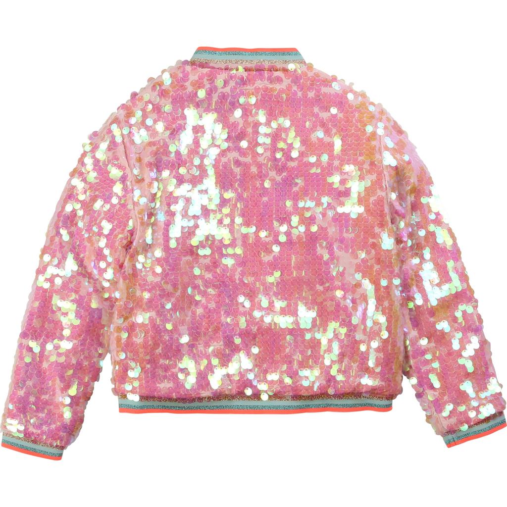 Billieblush Billieblush Sequin Bomber Jacket