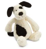 JellyCat Jelly Cat Bashful Black and Cream Small Puppy