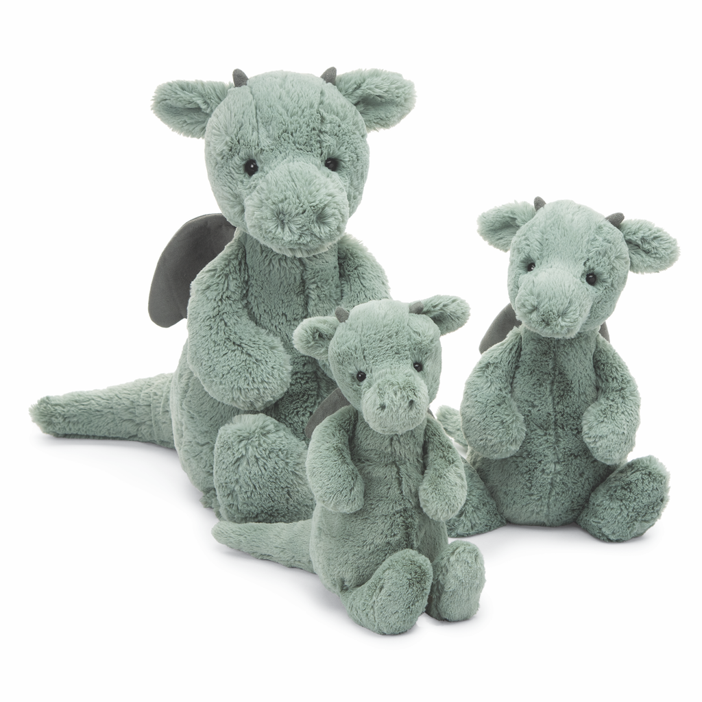 JellyCat Jelly Cat Bashful Dragon Huge