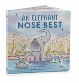 JellyCat Jelly Cat Elephant Nose Best Book