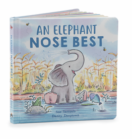 JellyCat Jelly Cat Elephant Nose Best Book